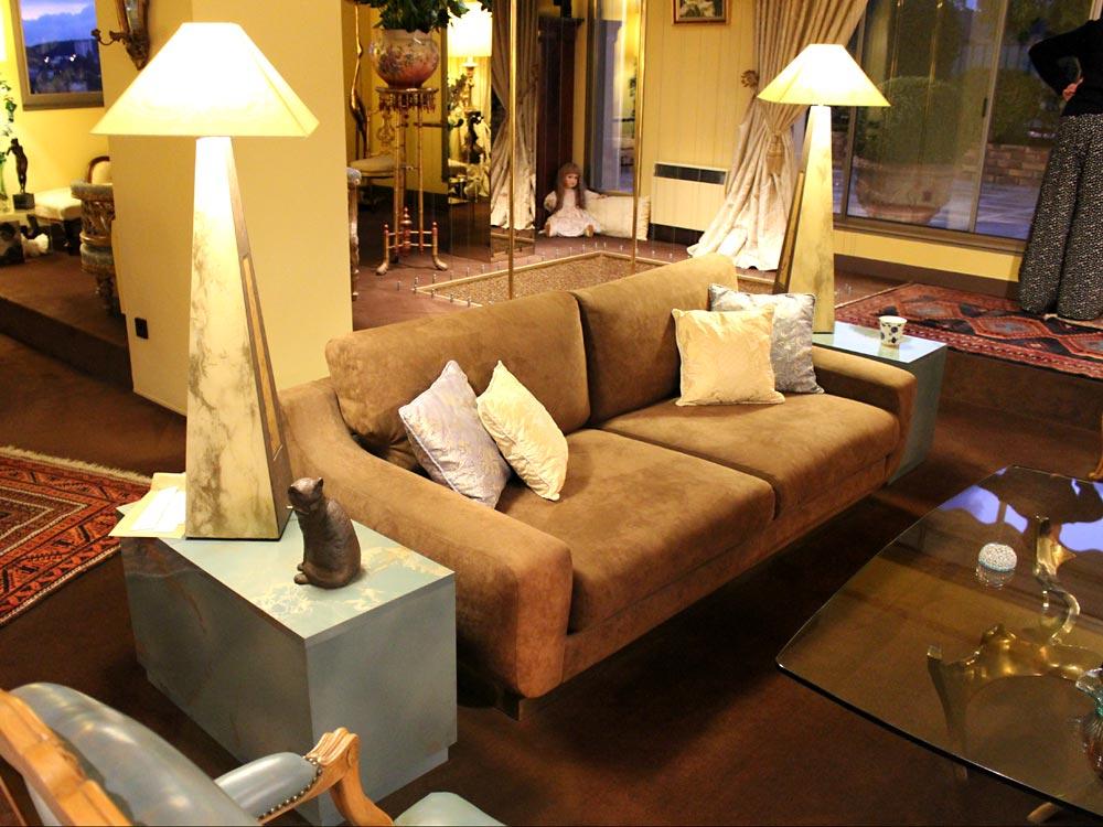 Canap s contemporain de luxe tapisserie neves 30 ans d - Canape sur mesure en ligne ...