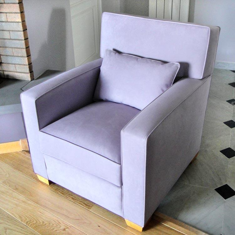 fauteuil art dco tapisserie neves - Tapissier Fauteuil