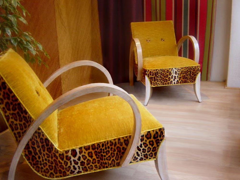 fauteuil art dco tapisserie - Fauteuil Art Deco