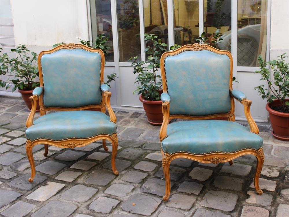 tapissier fauteuils de style tapisserie et cannage de fauteuils de style paris 14i me 75014 france. Black Bedroom Furniture Sets. Home Design Ideas
