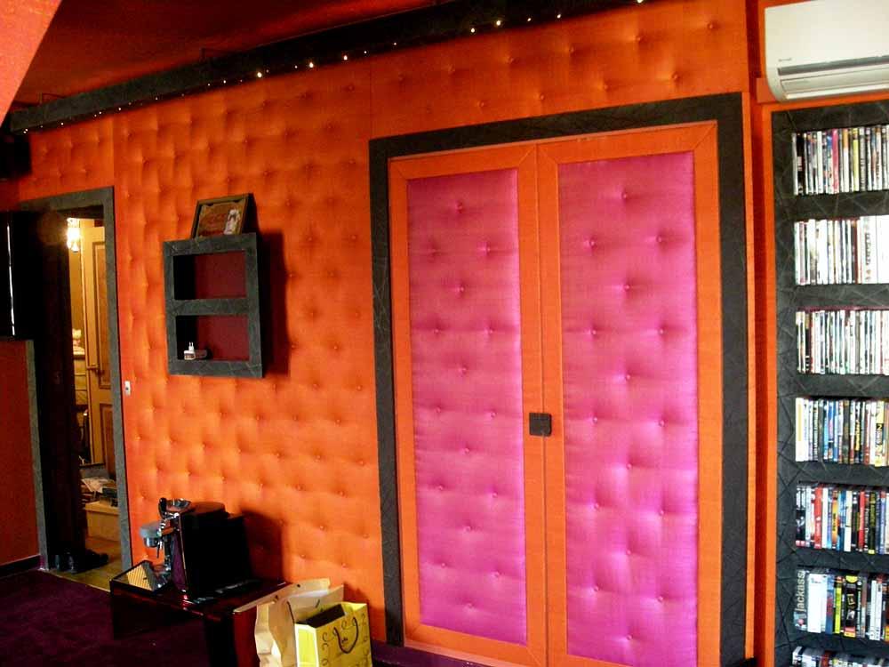tentures murales tapisserie neves tapissier d corateur pose de tentures murales paris 75014 france. Black Bedroom Furniture Sets. Home Design Ideas