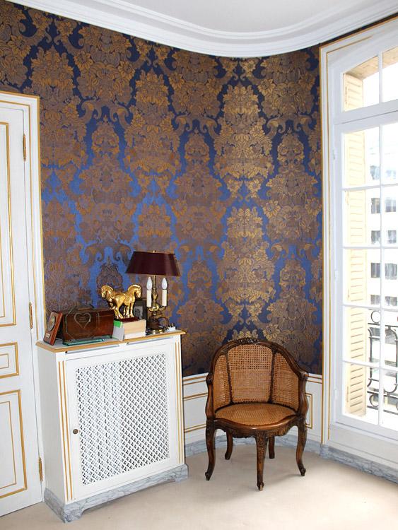 tapisserie murale feuille de palmier of tapisserie murale. Black Bedroom Furniture Sets. Home Design Ideas